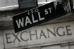 Wall Street, adresa americk burzy cennch papr NYSE - New York Stock Exchange. Ilustran foto.