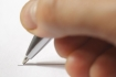 Podpis, ruka, pero - ilustrační foto.