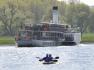 Parník, řeka Labe, vodáci - ilustrační foto.