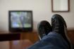 Sledování televize - ilustrační foto.