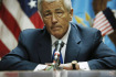 Ministr obrany Spojench stt Chuck Hagel.