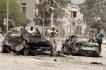 Ilustrační foto - Následky pumového útoku v iráckém Bagdádu.