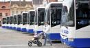 Ilustrační foto - Autobusy Iveco typu Crossway společnosti ICOM transport. Ilustrační foto.
