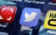 Ikonka Twitteru na obrazovace mobilního telefonu. Ilustrační foto.