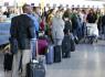 Ilustrační foto - Cestující na letišti. Ilustrační foto.