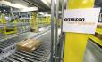 Ilustrační foto - Sklad firmy Amazon. Ilustrační foto.