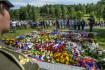 Obyvatele Ležáků zavražděné nacisty si připomněly tisíce lidí