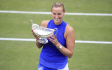 Kvitová dotáhla návrat až k titulu v Birminghamu, Federer vyhrál v Halle