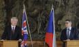 Zaorálek zopakoval Davisovi české priority při jednání o brexitu