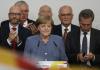 Merkelová se ztrátami vyhrála volby, AfD je třetí nejsilnější