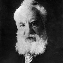 Ilustrační foto -  Alexander Graham Bell, americký fyzik, vynálezce telefonu.