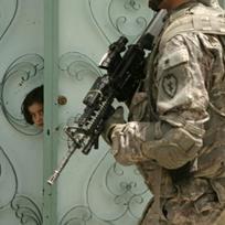 Ilustrační foto - Americký voják v Iráku. Ilustrační foto.