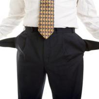 Podnikatel, obchodník, krach, bankrot - ilustrační foto.