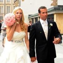 Tenista Radek Štěpánek vstoupil do svazku manželského s bývalou tenistkou Nicole Vaidišovou 17. července v katedrále sv. Víta v Praze.