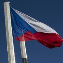 Vlajka České republiky - ilustrační foto.