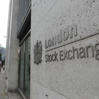 Burza cenných papírů v Londýně - ilustrační foto
