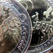 Euro, mince - ilustrační foto.