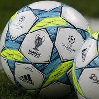 Fotbalový míč - Liga mistrů - ilustrační foto.