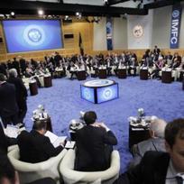 Zasedání ministrů financí členských států Mezinárodního měnového fondu (MMF) ve Washingtonu.