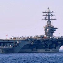 Ilustrační foto - Americká letadlová loď Dwight D. Eisenhower.