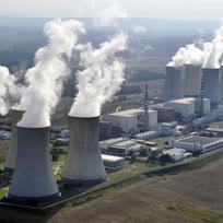 Jaderná elektrárně Dukovany (na leteckém snímku z 9. srpna 2012).