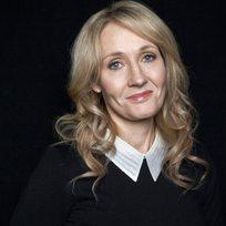 Britská spisovatelka Joanne K. Rowlingová.