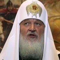 Ruský patriarcha Kirill.