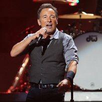 Americký rockový zpěvák Bruce Springsteen.