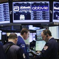 Newyorská burza na Wall Street.