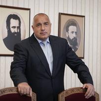 Ilustrační foto - Vůdce bulharské strany GERB Bojko Borisov.