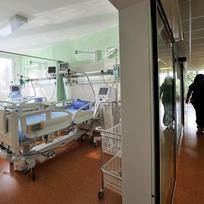 Nemocnice, lůžka, inzenzivní péče - ilustrační foto.