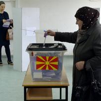 Volby v Makedonii. Ilustrační foto.