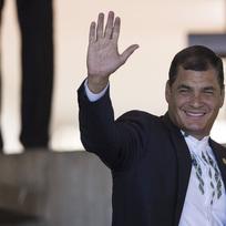 Ekvádorský prezident Rafael Correa.
