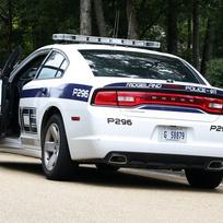 Ilustrační foto - Vůz americké policie - ilustrační foto.