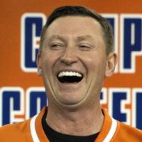 Kanadská hokejová legenda Wayne Gretzky