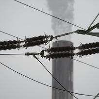 Elektrárna, stožár vysokého napětí, rozvodna - ilustrační foto.
