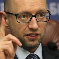 Ukrajinský premiér Arsenij Jaceňuk.