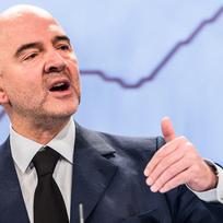 Ilustrační foto - Evropský komisař pro finanční záležitosti, daně a cla Pierre Moscovici.