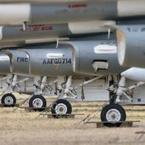 Ilustrační foto - Stíhací letouny F-16 Fighting Falcons - ilustrační foto.