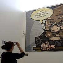 Výstava nazvaná Proces Michail Chodorkovskij, která je inspirovaná soudním procesem s bývalým ruským oligarchou Michailem Chodorkovským a jeho společníkem Platonem Lebeděvem, začala 30. července v pražském centru DOX.