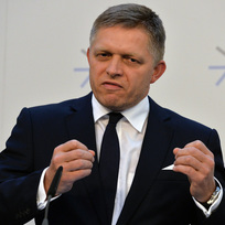 Premiér Slovenska Robert Fico.