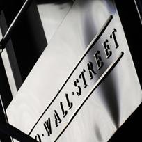 Budova akciové burzy na Wall Street v americkém New Yorku.