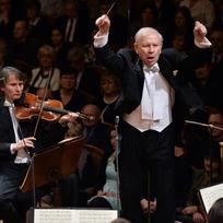 Koncert České filharmonie pod vedením šéfdirigenta Jiřího Bělohlávka k oslavě 120 let od jejího založení 4. ledna v pražském Rudolfinu.