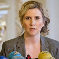 Ministryně školství, mládeže a tělovýchovy Kateřina Valachová vystoupila 12. ledna v Praze na tiskové konferenci k prioritním úkolům resortu v roce 2016 a dalším aktuálním tématům.