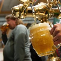 Pivo, točené pivo, restaurace, hospoda, výčep, pivní festival - ilustrační foto.