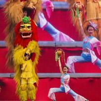 Vystoupením čínských uměleckých souborů na pražském Výstavišti skončila 7. února dvoudenní oslava čínského nového roku.