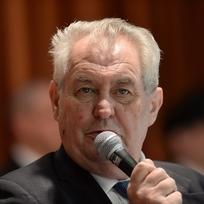 Ilustrační foto - Prezident Miloš Zeman.