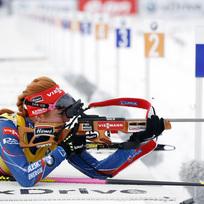 Česká biatlonistka Gabriela Soukalová