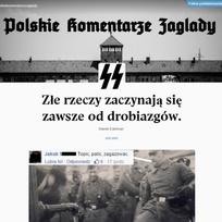 """V Polsku vyvolal rozruch speciální blog \""""o Polácích, kteří posílají muslimy do plynu\"""". Nenávistné výroky ze sociálních sítí totiž vkládá bloger do úst esesákům z archivních fotografií."""