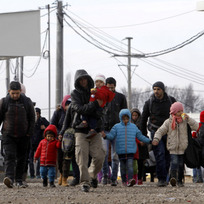 Uprchlíci, migranti - ilustrační foto